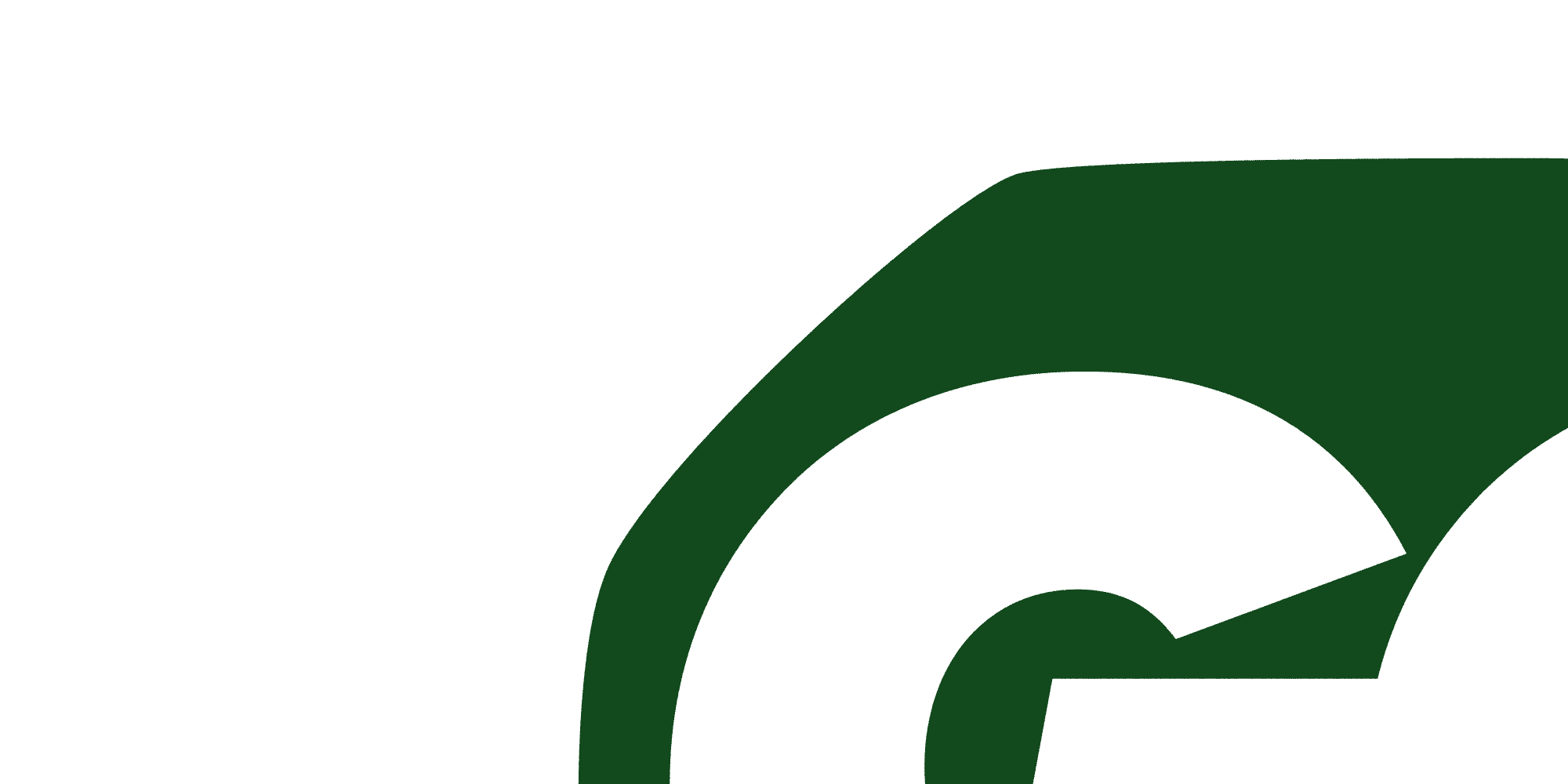 Detail of Go Green Logo Type